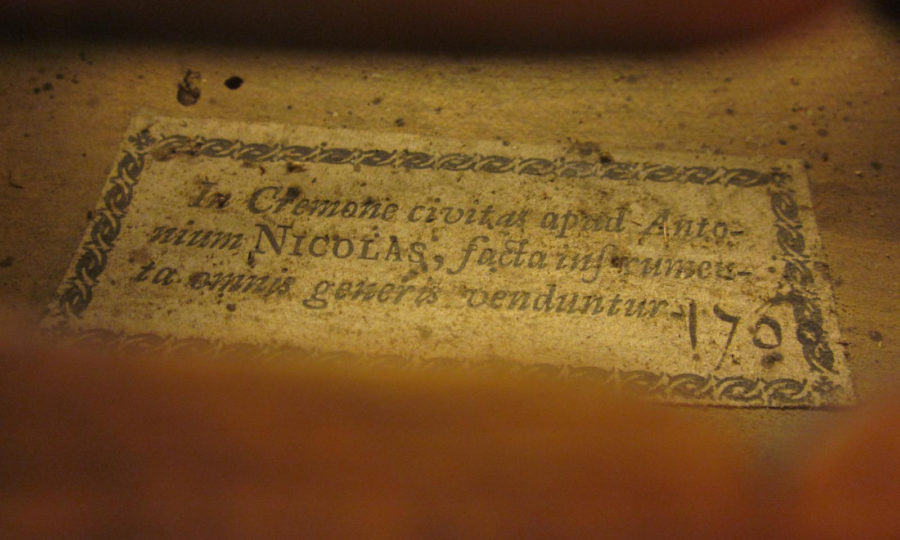 Antonium Nicolas (Padre di Nicolas Didier Ainè) 1700 Mirecourt - Prima