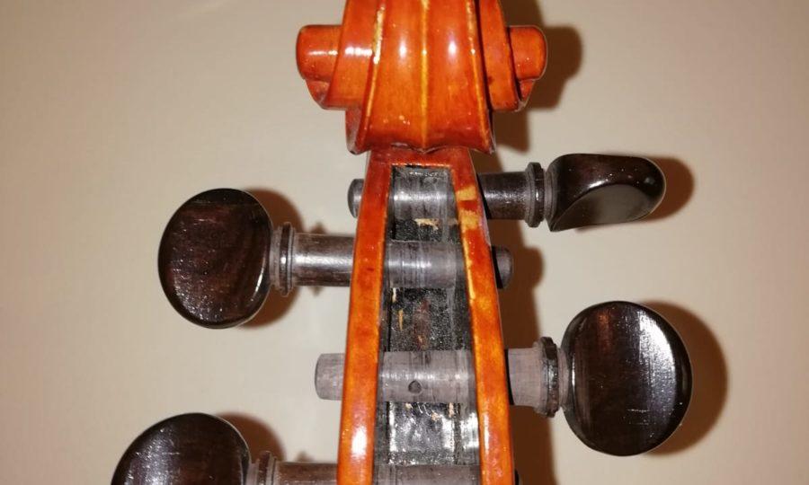 Restauro violino Luigi Galimberti 1935 - Prima