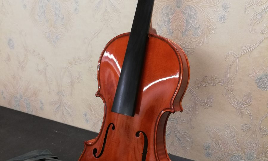 Restauro violino Luigi Galimberti 1935 - Dopo